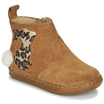 Zapatos Niña Botas de caña baja Shoo Pom BOUBA PIMPIN Marrón