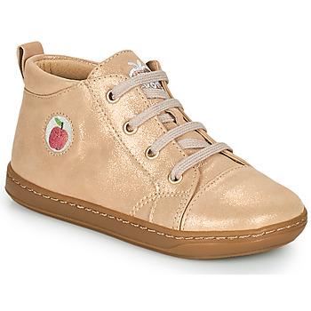 Zapatos Niña Zapatillas altas Shoo Pom BOUBA ZIP LACE Rosa