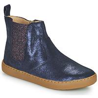 Zapatos Niña Botas de caña baja Shoo Pom PLAY CHELSEA Azul