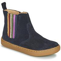 Zapatos Niña Botas de caña baja Shoo Pom PLAY NEW SHINE Azul