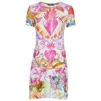 textil Mujer Vestidos cortos Desigual TATTO Multicolor
