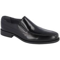 Zapatos Hombre Mocasín Luisetti Zapato Ceremonia Confort 19302Goma Negro Negro