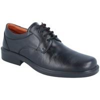 Zapatos Hombre Derbie Luisetti Zapato Confort Step 0101 Negro
