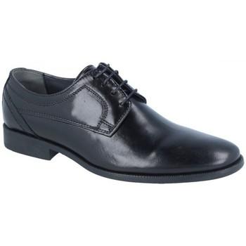Zapatos Hombre Derbie Luisetti Zapato New Ceremonia 14709Goma Negro