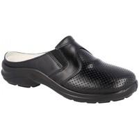 Zapatos Hombre Zuecos (Clogs) Luisetti ZAPATO Zueco Línea Blanca 0035Menorca Negro