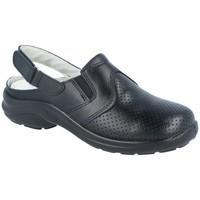 Zapatos Hombre Zuecos (Clogs) Luisetti ZAPATO Zueco Línea Blanca 0036Menorca CR Negro