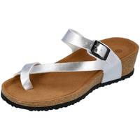 Zapatos Mujer Sandalias L&R Shoes M-28 PLATA