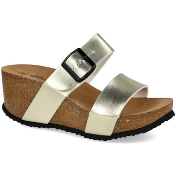 Zapatos Mujer Zuecos (Mules) L&R Shoes M-08 ORO