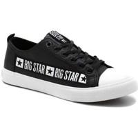 Zapatos Hombre Zapatillas bajas Big Star EE174069 Negros