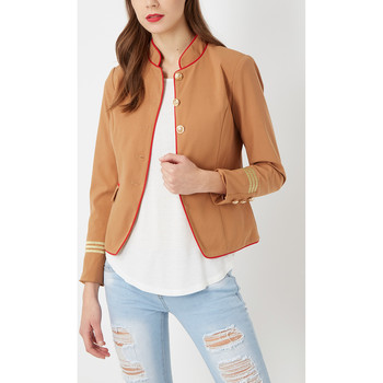 textil Mujer Chaquetas / Americana Anany AN-290059 CAMEL