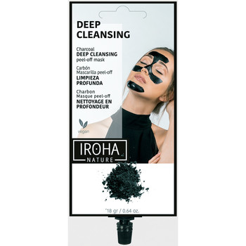 Belleza Exfoliante & Peeling Iroha Nature Mascarilla Peel Off Detox Carbón