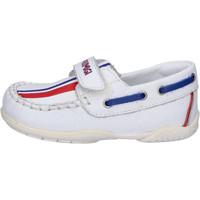 Zapatos Niño Mocasín Primigi Mocasines Cuero Blanco
