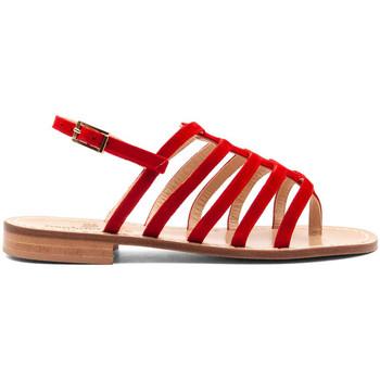 Zapatos Mujer Chanclas Paolo Ferrara 2095-C-ROSSO ROSSO