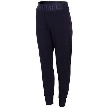 textil Mujer Pantalones de chándal 4F SPDD013 Azul marino