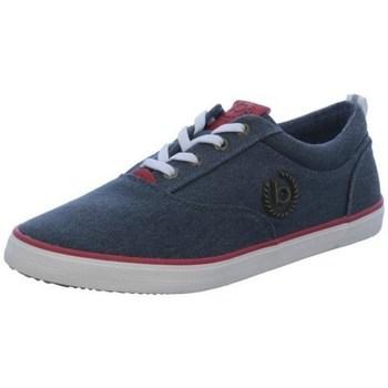 Zapatos Hombre Derbie Bugatti 3215020469504130 Azul marino