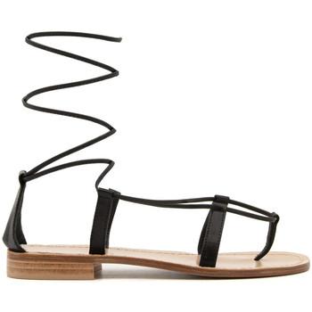 Zapatos Mujer Sandalias Paolo Ferrara 2935-L NERO