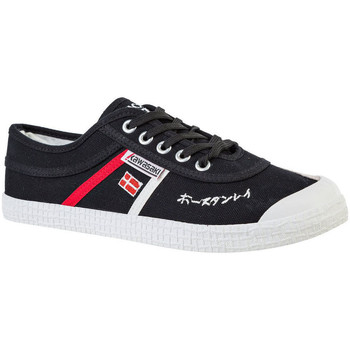 Zapatos Zapatillas bajas Kawasaki Signature canvas shoe - black Negro