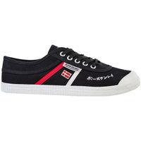 Zapatos Hombre Zapatillas bajas Kawasaki Signature canvas shoe - black Negro