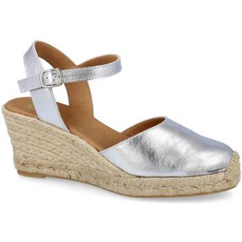 Zapatos Mujer Alpargatas L&R Shoes 540 PLATA