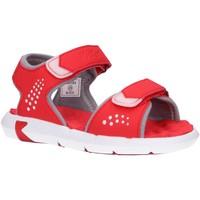 Zapatos Niños Sandalias de deporte Kickers 858670-30 JUMANGAP Rojo