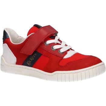 Zapatos Niños Multideporte Kickers 858480-30 WINTUP Rojo