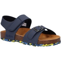 Zapatos Niños Sandalias Kickers 858543-30 SUNKRO Azul
