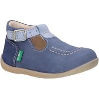 Zapatos Niños Derbie & Richelieu Kickers 621016-10 BONBEK-2 Azul