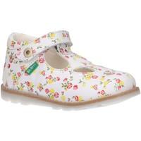 Zapatos Niña Derbie & Richelieu Kickers 785067-10 NONOCCHI Blanco