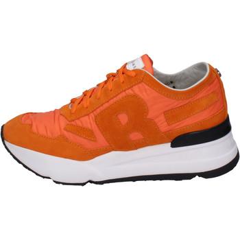 Zapatos Hombre Zapatillas bajas Rucoline BH388 Naranja