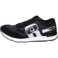 Zapatos Hombre Zapatillas bajas Rucoline BH395 Negro