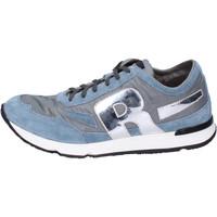 Zapatos Hombre Zapatillas bajas Rucoline BH397 Azul