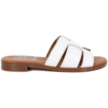 Zapatos Mujer Zuecos (Mules) Blue Sandal 2016 Blanco