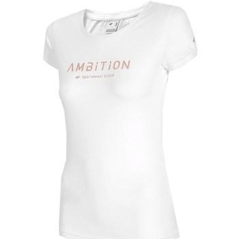 textil Mujer Camisetas manga corta 4F H4L21 TSD033 Blanco