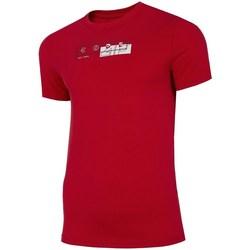 textil Hombre Camisetas manga corta 4F TSM021 Rojos