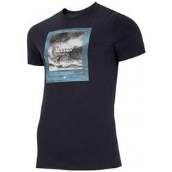 textil Hombre Camisetas manga corta 4F TSM028 Negros