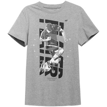 textil Hombre Camisetas manga corta 4F H4L21 TSM011 Grises