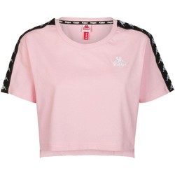 textil Mujer Camisetas manga corta Kappa APUA 303WGQ0 BZ5 Rosa