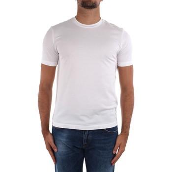 textil Hombre Camisetas manga corta Cruciani CUJOSB G30 blanco