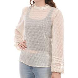 textil Mujer Tops / Blusas Vila  Beige