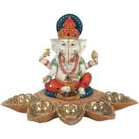 Casa Figuras decorativas Signes Grimalt Figura Ganesha Marrón