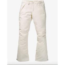 textil Mujer Pantalones de chándal Burton Pantalones WB Society Mujer - Blanco Blanco