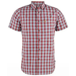 textil Hombre Camisas manga corta Fjallraven Camisa Ovilk Hombre - Rojo Rojo