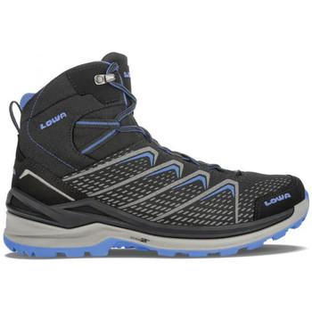 Zapatos Hombre Senderismo Lowa Arranque Ferrox Pro GTX Mid Hombre - Negro Negro