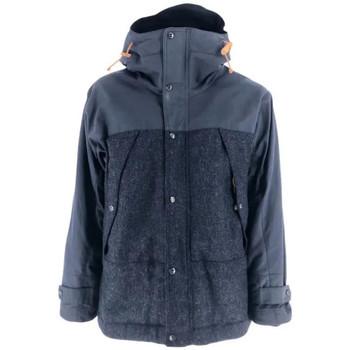 textil Hombre Parkas Manifattura Ceccarelli Chaqueta Two Tone Mountain Jacket Hombre - Azul Azul