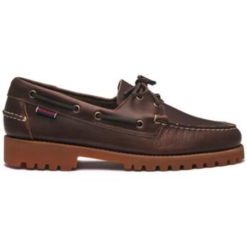 Zapatos Hombre Zapatos náuticos Sebago Zapatos Ranger Waxy Gum Hombre - Marrón Marrón