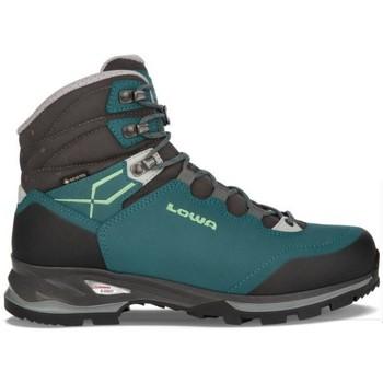 Zapatos Mujer Senderismo Lowa Arranque Pedule Light GTX Mujer - Verde Verde