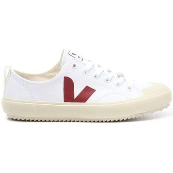 Zapatos Hombre Zapatillas bajas Veja Zapatillas Nova Canvas Hombre - Blanco Blanco