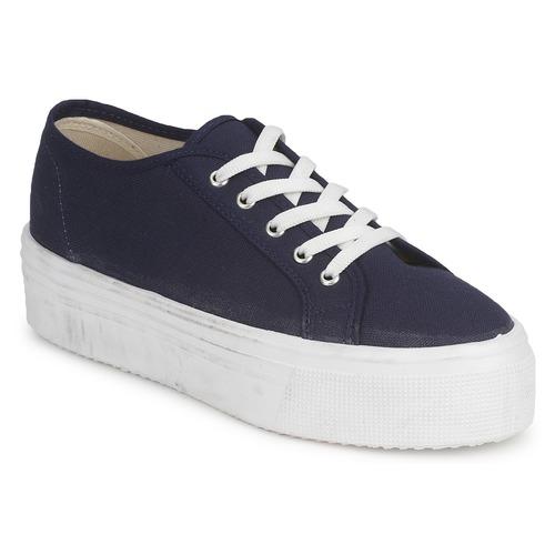 Zapatos Mujer Zapatillas bajas Yurban SUPERTELA Marino
