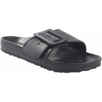 Zapatos Mujer Zuecos (Mules) Kelara Playa señora  02022 negro Negro