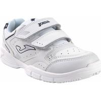 Zapatos Niño Multideporte Joma Deporte niño  school 2142 bl.azu Blanco